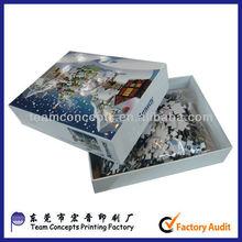 Paper printable 500pcs jigsaw puzzle