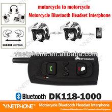 1000m helmet two way interphone v2