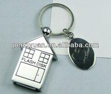 2013 new style house usb memory stick , metal usb flash drive housing