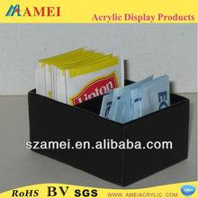 Custom black acrylic sweet container