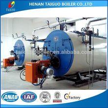 WNS best oil/gas steam boiler price, Italy Baltur burner
