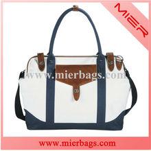 Designer Cotton Canvas Duffel Bag