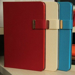 high quality knit stripe wallet case for ipad mini