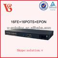 16fe+16pots rete ottica passiva unità MDU, tessuto in fibra ottica