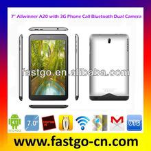 Newest Dual Core Allwinner A20 Tablet PC Microsoft Office