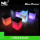 Glow furniture!! Led Bar Chair led cafe chairs and tables