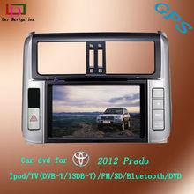 Audio Car system Toyota Prado 2012