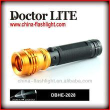 Doctor Lite Mini Focus Adjustable LED Power Style Flashlight