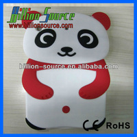 White Panda (with Red Hands) Protector Cover for Apple iPad Mini