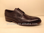 high-class brand dress men shoes with leather welt