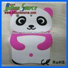 New 3D Cartoon Panda Bear Rubber Silicon Back Case Cover for Apple iPad mini