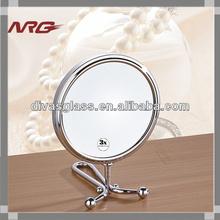 Make Up Mirror Free Standing Magnifying Fashion