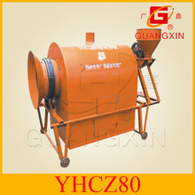 150kgs per hour easy operating oil seeds roaster frying machine
