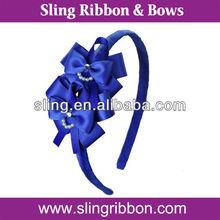 Diamond & Pearl Ribbon Hair Accessories