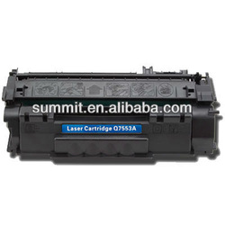 With LaserJet 2014/2015 Printer for 7553A compatible toner cartridge