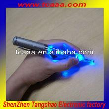 advertising metal led flashing ballpoint pens