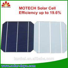 High Efficiency BOSCH 156 3BB Mono Flexible Solar Cell