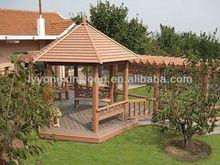 White pavilion / WPC prefab houses