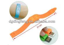 2012 New products Silicone wristband 4GB usb Watch,Silicone bracelet LED Watch USB 8GB