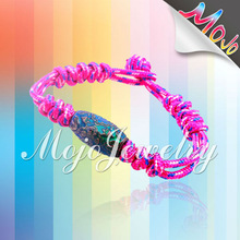 Paracord 100% Handmade Woven Mood Bead Baby Bracelets Direct Sales Products