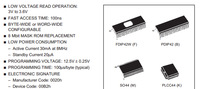 8 Mbit 1Mb x8 or 512Kb x16 Low Voltage UV EPROM and OTP EPROM M27V800-100F1 DIP42