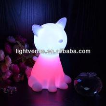 Beautiful animal shape LED Cat Room Light