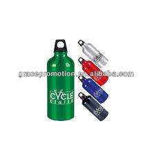 16 Oz. Metallic Water Bottle W/ Carabiner (Printed)