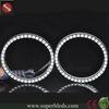 12V RGB color halo rings 146mm 5050 48smd semi-circle angel eyes for BMW E46, E38 headlight