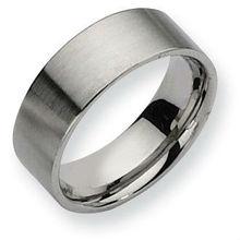 plain face Sand surface polishing rings stainless steel