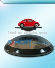 New Innovation 2013 Magnetic Advertising Display Case, jewelry display case fabric