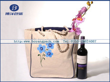 Hot sale Wine resuable shopping& promotion bag