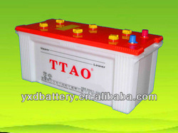 dry charged lead acid truck and ship battery 12V180AH