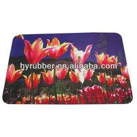rubber living room floor mat
