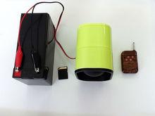 Reproductor de MP3 del pájaro para la caza con mando a distancia