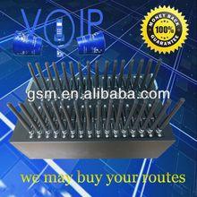 hot 32 ports GSM modem pool for bulk sms/mms sending free msg sending sites