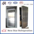 Inoxidable/de aluminio de acero puerta de seguridad para cámaras frigoríficas/de almacenamiento en frío