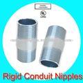 porinmersión en caliente de tubo galvanizado pezón fittings con ul listed