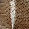 De la pu/pvc serpiente pieles animales materiales para hacer monederos( cuerina sintetica)