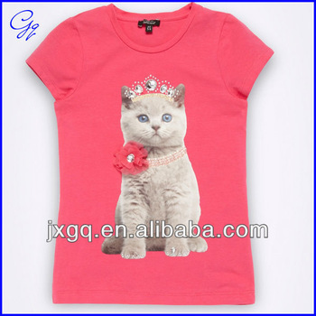 Design Your Own Clothes Online For Kids Kid girls customized t shirt