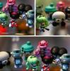 cartoon toy mini toy, cartoon mini plastic toy figure, mini custom figure toy