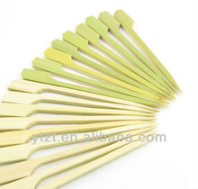 great for mixed drinks and h'orderves food picker, Skewered Vegetables, BBQ kabob bamboo paddle skewers