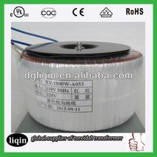 5000w toroidal transformer for industrial equipment