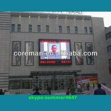 digital clock 3G/GPRS /keyboard remote controller /wireless advertising screen /indoor led 3d advertising screen