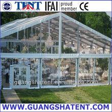 toile de tente en pvc transparent