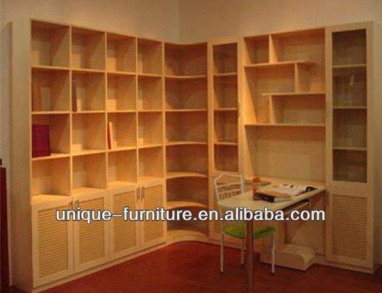 Moderno estante de libro y dise o estanter a de madera con - Estanterias diseno para libros ...
