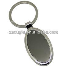 Custom blank metal keyrings