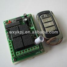DC12V 4CH RF 433.92mhz switch wireless