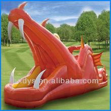 dragon inflatable slide