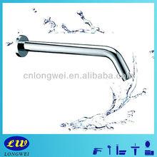 2015 standard shower arm with round flange chrome LWA-09005 bathroom accessory