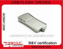 metal shinning square, USB Flash Drive USB with OEM price 16G
